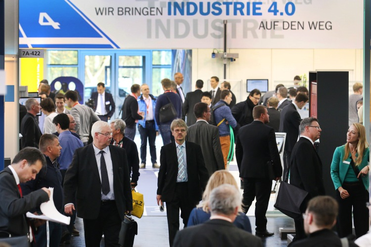 SPS IPC Drives 2015 in Nürnberg. Foto: Mesago/Thomas Geiger