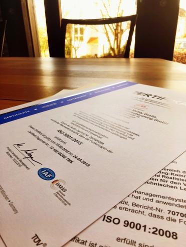 Aus Alt mach Neu: DIN ISO 9001:2015